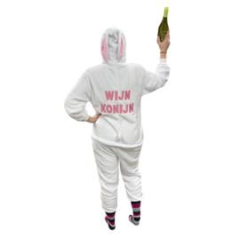 Crazy onesies konijn | Wijn konijn