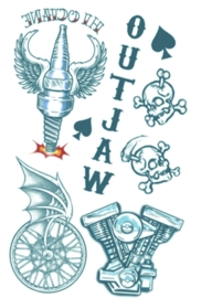 Biker Tattoos Outlaw