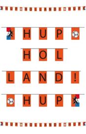 Vlaggenlijn oranje hup holland 10 meter