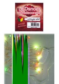 Ledverlichting snoer rood/geel/groen 2 mtr