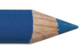 Oogpotlood 11 cm turquoise