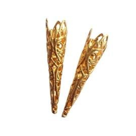 Luxe pieten verenpuntjes goud
