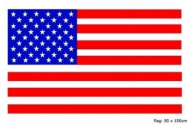 Vlag USA 90x150