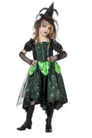 Heksen jurkje green emerald