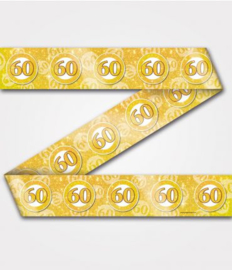 Party Tape - 60 jaar getrouwd | Afzetlint