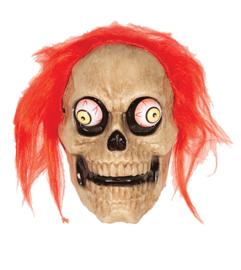 Masker skelet trillende ogen