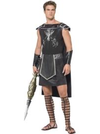 Dark gladiator kostuum