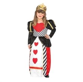 Hartenkoningin jurk