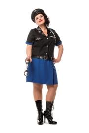 Politie officiers jurk plus
