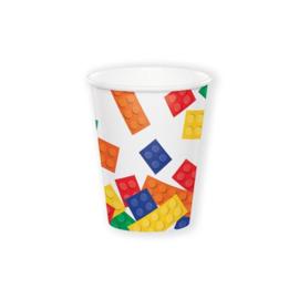 Bricks bekertjes 8 stuks