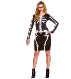 Sexy skeleton jurkje