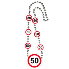 Ketting verkeersbord 50 jaar
