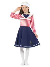 Sailor jurkje meisjes