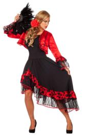 Spaanse Carmen jurk