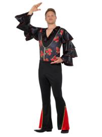 Spaanse flamenco kostuum