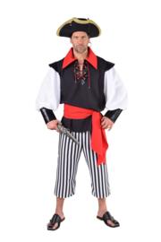 Piraat kostuum deluxe