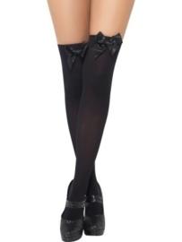 Britney kousen met strik zwart
