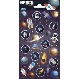 Sticker vel Space