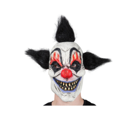 Latex masker - Crazy Clown