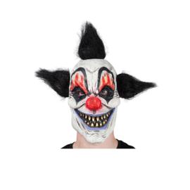 Latex masker - Crazy Clown