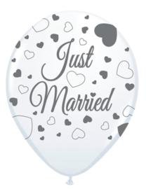 Ballonnen just married