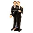Trouwkoppeltje beeldje homo koppel