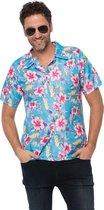 Hawai shirt Deluxe Blauw