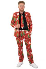 Kerst kostuum 3-delig