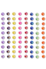 Gezichts en body jewels pearls rainbow '6mm'