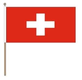 Zwaai vlaggetje Zwitserland