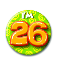 Button 26 jaar