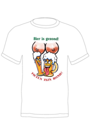 Bier is gezond T-shirt