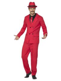 Zoot kostuum rood