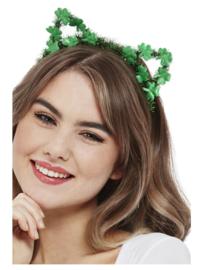 St. Patricks Day tiara kattenoortjes