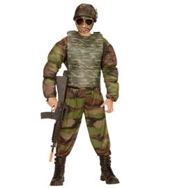 Kogelvrij camouflage vest kind