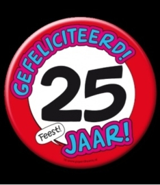 Button XL 25 jaar