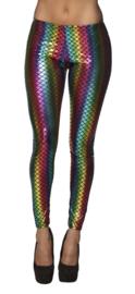 Rainbow zeemeermin legging