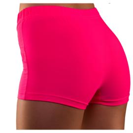 Hot pants neon pink