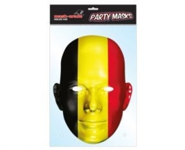 Masker Belgische vlag OP=OP