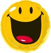 Folieballon smiley (43cm)