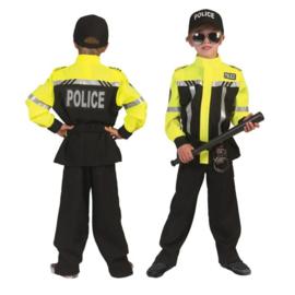 Politie kostuum jongens deluxe