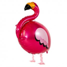 Walking ballon flamingo | 83x71cm