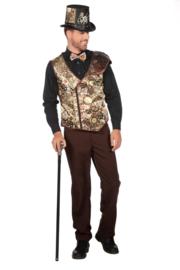 Steampunk vest lacey
