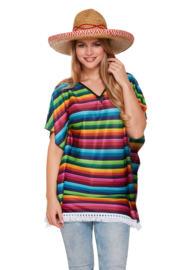 Mexicaanse dames Poncho