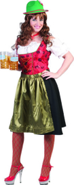 Tiroler jurk ladys deluxe