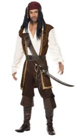 High Seas Pirate kostuum