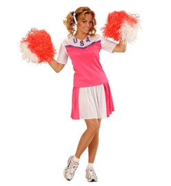Cheerleader pink lady jurkje