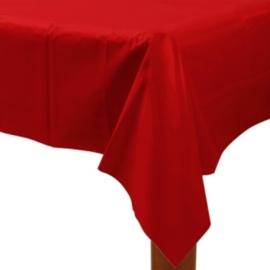 Rode tafelkleed