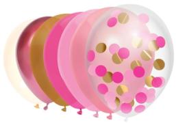 Ballonnen princess mix 10 stuks