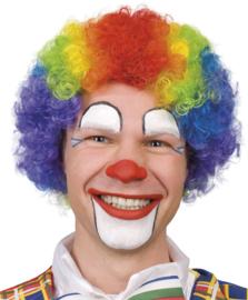 Clownspruik regenboog